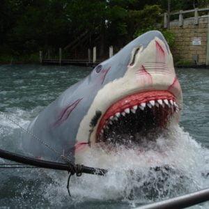 Die spektakuläre Jaws-Bahn in Universal Studios Florida
