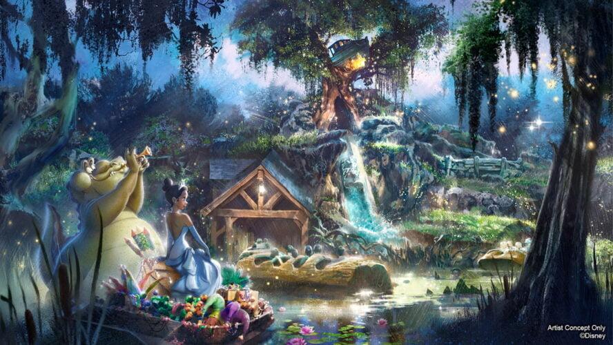 Splash Mountain wird umgestaltet: Küss den Frosch / Princess and the Frog