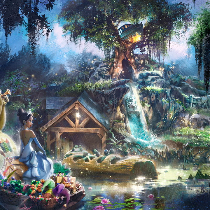 Splash Mountain wird umgestaltet: Küss den Frosch / Princess and the Frog