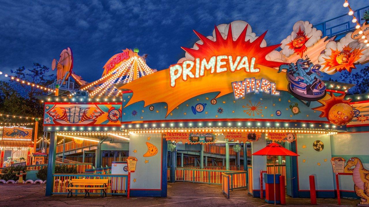 Primeval Whirl Animal Kingdom Disney