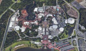 Google Earth: Disney's Magic Kingdom