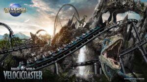 Velocicoaster: Neues von der Jurassic-Park-Achterbahn Poster
