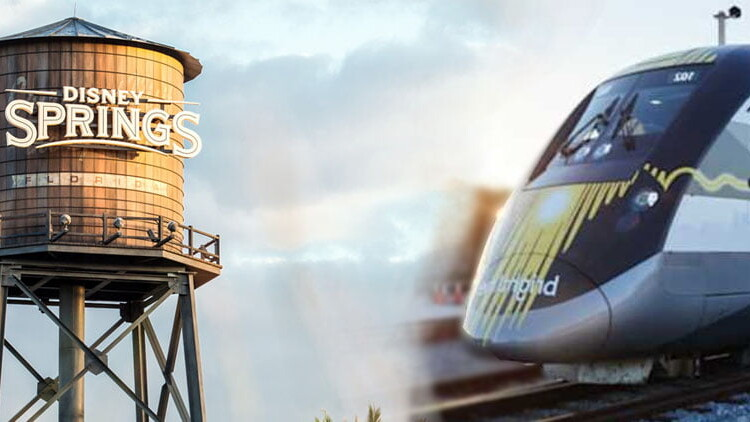 Brightline Zug nach Orlando (Disney World)