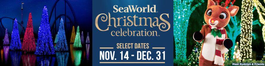 Weihnachten in Orlandos Freizeitparks: SeaWorld Orlando Weihnachten 2020