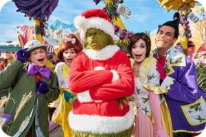 Grinchmas-Weihnachten bei Universal Orlando