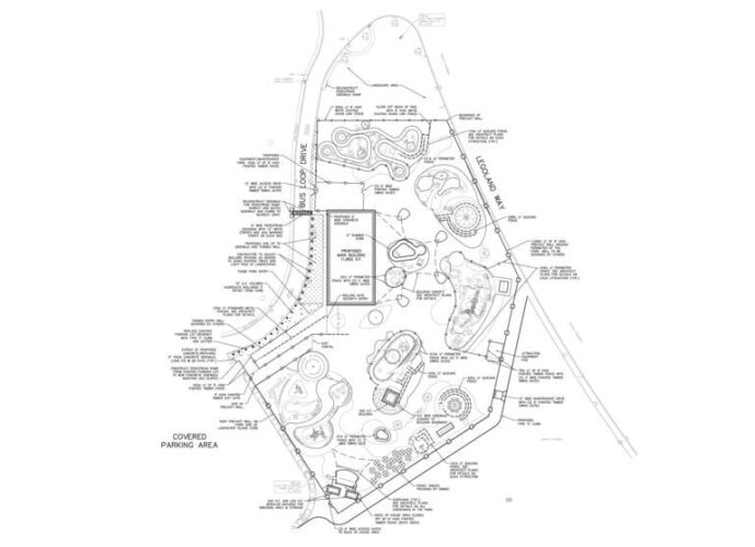 Skizze Legoland Florida Erweiterung