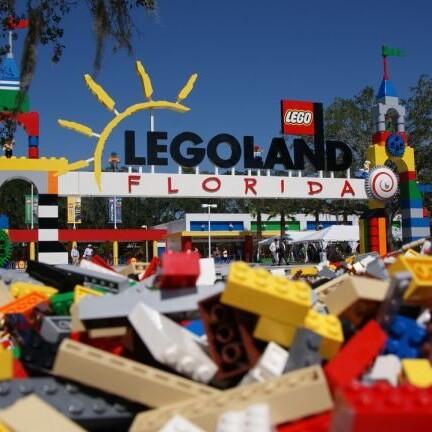 Legoland Florida Eingang