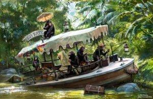 Anpassungen an Attraktion: Jungle Cruise