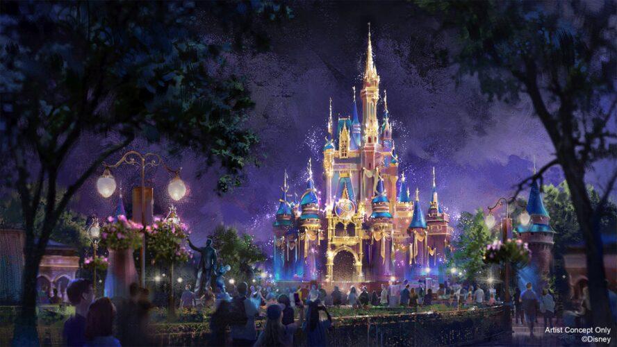 50. Jahre-Jubiläum Walt Disney World: Magic Kingdom