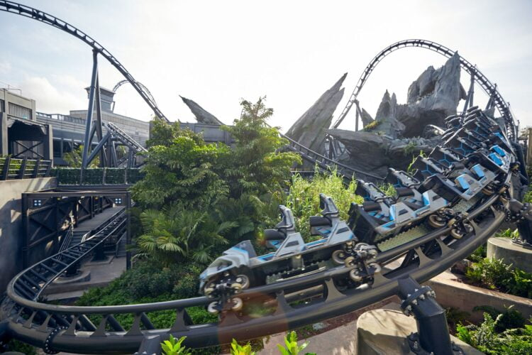 Eröffnungsdatum für Jurassic World VelociCoaster: Achterbahn in Islands of Adventure