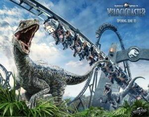 Eröffnungsdatum für Jurassic World VelociCoaster angekündigt