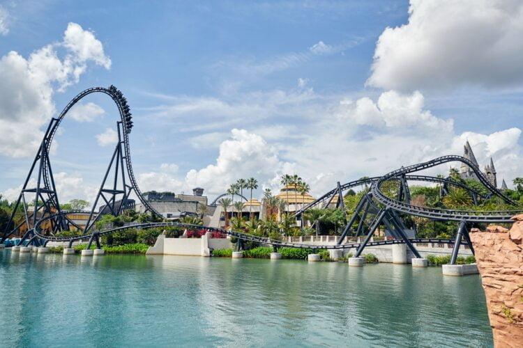 Eröffnungsdatum für Jurassic World VelociCoaster: Achterbahn in Islands of Adventure Park