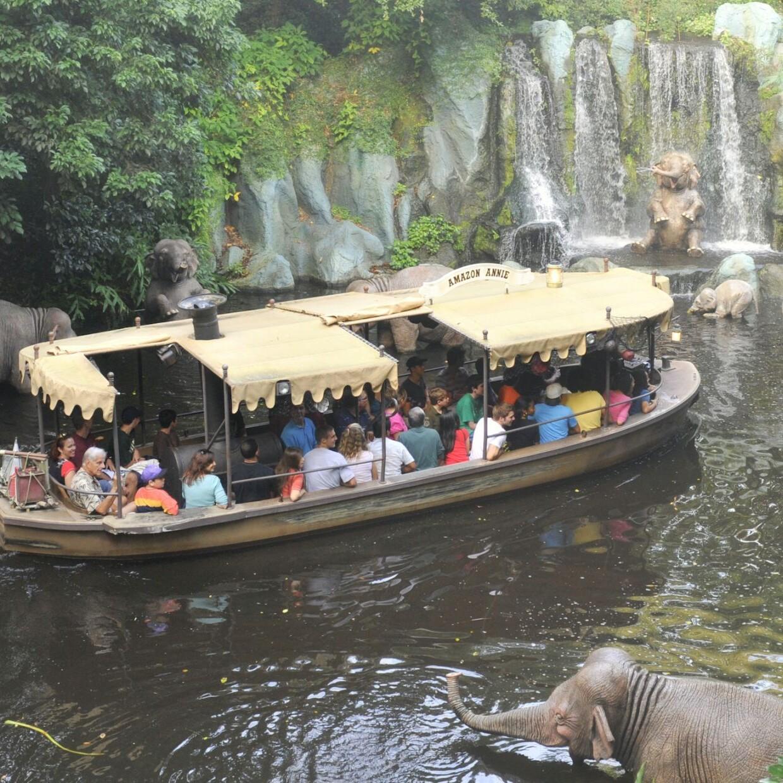 Jungle Cruise Magic Kingdom