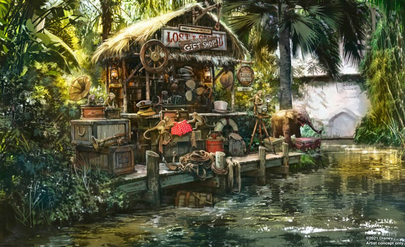 Trader Sam Giftshop auf der Jungle Cruise