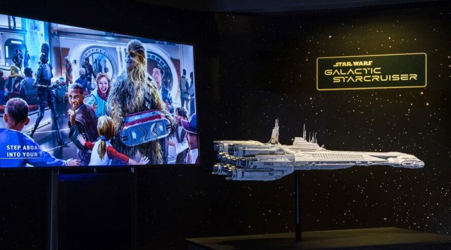Star Wars: Galactic Starcruiser Modell