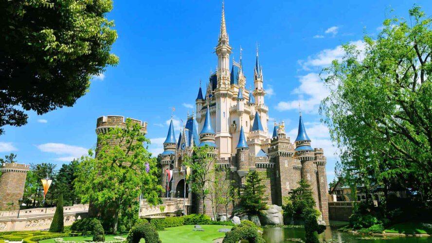 Cinderella-Schloss im Tokyo Disneyland