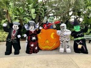 Brick or Treat Halloween im Legoland Florida