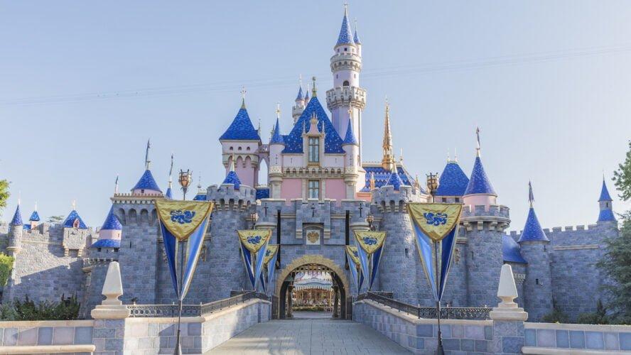 Sleeping-Beauty-Schloss im Disneyland (Kalifornien)
