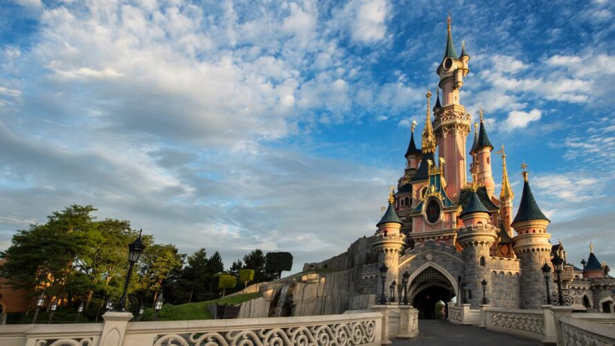 Sleeping-Beauty-Schloss im Disneyland Paris
