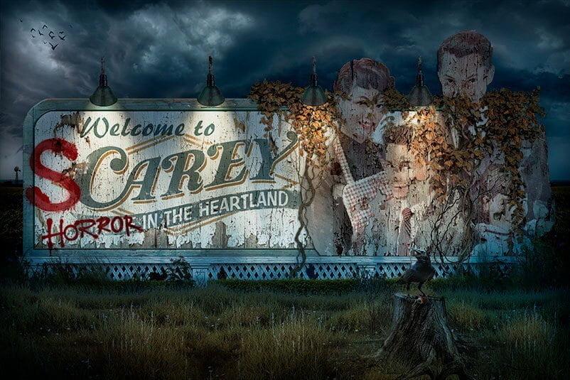 Welcome to Scarey - Haunted Haus - Halloween Horror Nights 2021