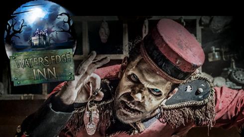 Water's Edge Inn - Haunted Haus - Howl-o-Scream SeaWorld Orlando 2021