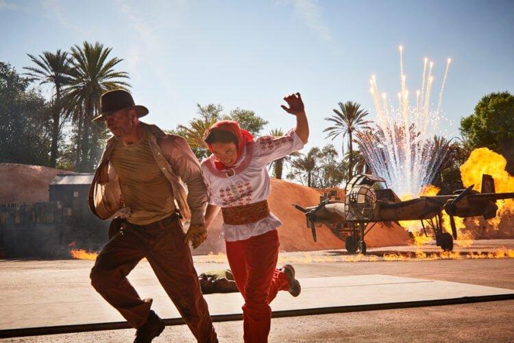 «Indiana Jones Epic Stunt Spectacular»-Action ab Dezember